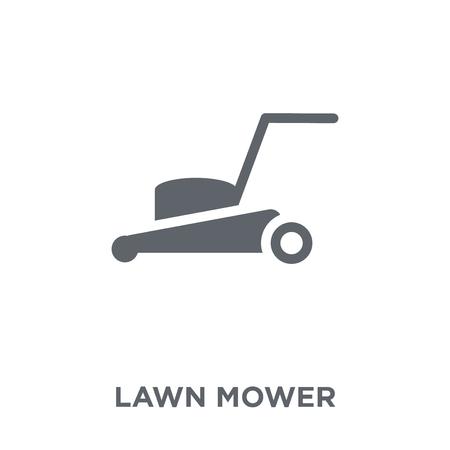 Grasmaaier pictogram. Grasmaaier ontwerpconcept uit de collectie landbouw, landbouw en tuinieren. Eenvoudig element vectorillustratie op witte achtergrond. Vector Illustratie
