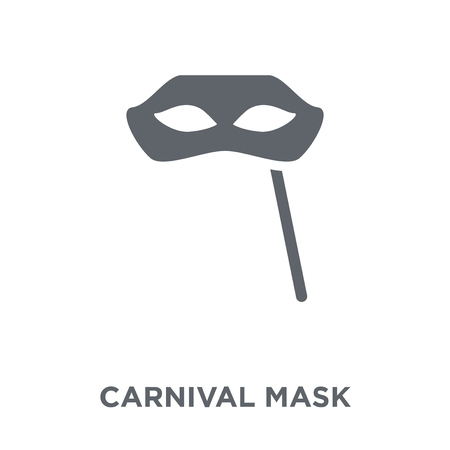 Carnival Mask icon. Carnival Mask design concept from Christmas collection. Simple element vector illustration on white background.