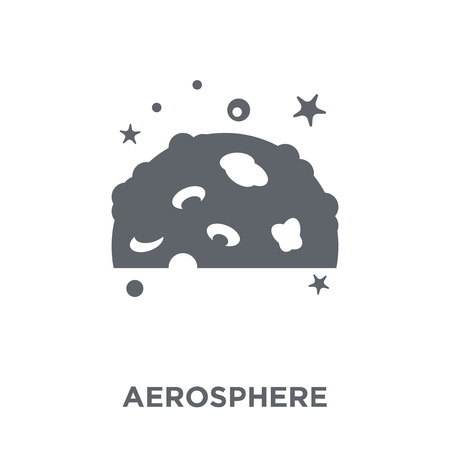 aerosphere icon. aerosphere design concept from Astronomy collection. Simple element vector illustration on white background.