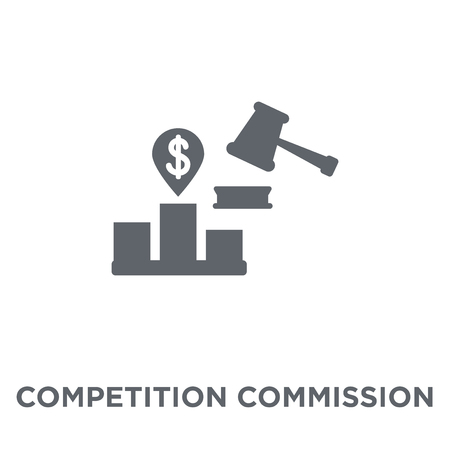 Competition Commission icon. Competition Commission design concept from Competition Commission collection. Simple element vector illustration on white background.