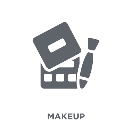 Makeup icon. Makeup design concept from Wedding and love collection. Simple element vector illustration on white background. 일러스트