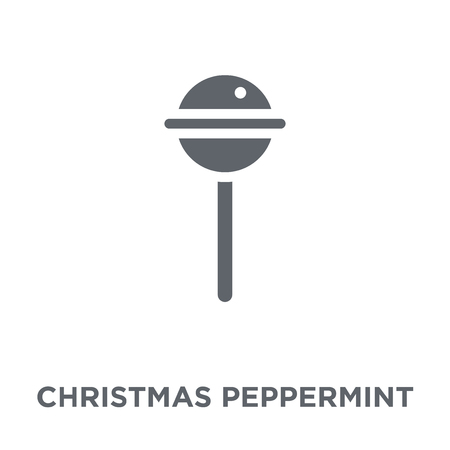 christmas Peppermint icon. christmas Peppermint design concept from Christmas collection. Simple element vector illustration on white background.