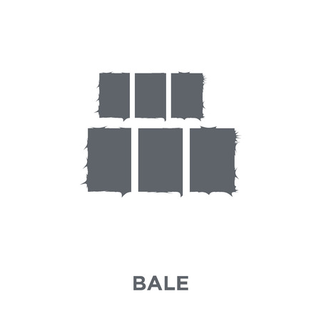Bale icon. Bale design concept from Agriculture, Farming and Gardening collection. Simple element vector illustration on white background.