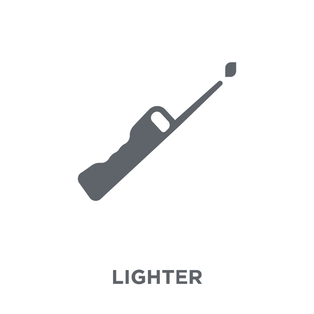 Lighter icon. Lighter design concept from Camping collection. Simple element vector illustration on white background. 向量圖像