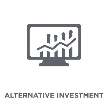 Alternative investment market icon. Alternative investment market design concept from Alternative investment market collection. Simple element vector illustration on white background.