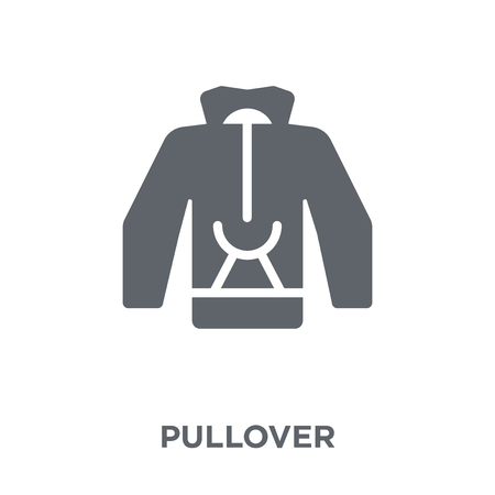 Pullover icon. Pullover design concept from Clothes collection. Simple element vector illustration on white background.
