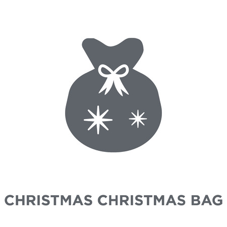 christmas Christmas Bag icon. christmas Christmas Bag design concept from Christmas collection. Simple element vector illustration on white background.