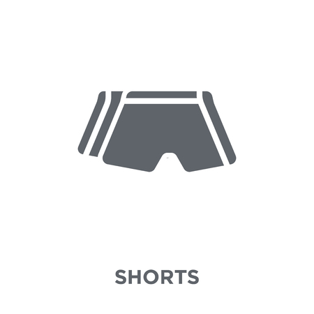 Shorts icon. Shorts design concept from  collection. Simple element vector illustration on white background.