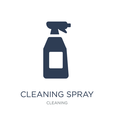 Cleaning spray icon. Trendy flat vector Cleaning spray icon on white background from Cleaning collection, vector illustration can be use for web and mobile, eps10