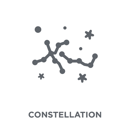 Constellation icon. Constellation design concept from Astronomy collection. Simple element vector illustration on white background.