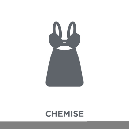Chemise icon. Chemise design concept from Chemise collection. Simple element vector illustration on white background.