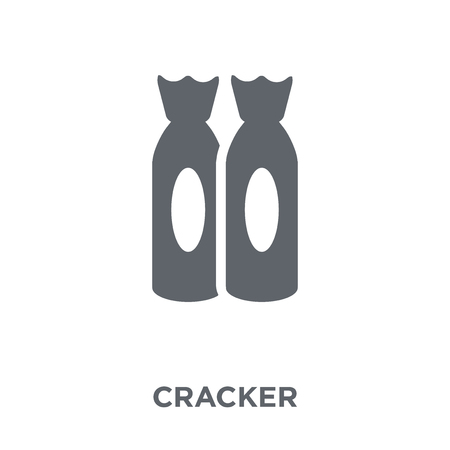Cracker icon. Cracker design concept from Christmas collection. Simple element vector illustration on white background.