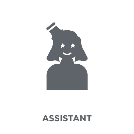 Assistant icon. Assistant design concept from Circus collection. Simple element vector illustration on white background.