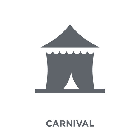 Carnival icon. Carnival design concept from Circus collection. Simple element vector illustration on white background.