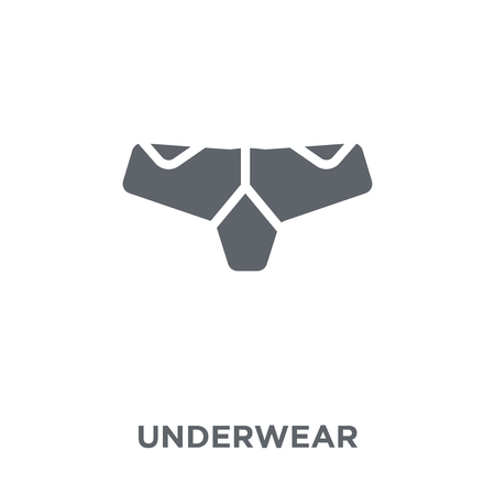 Underwear icon. Underwear design concept from  collection. Simple element vector illustration on white background.