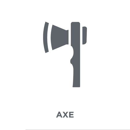 Axe icon. Axe design concept from Agriculture, Farming and Gardening collection. Simple element vector illustration on white background. Çizim