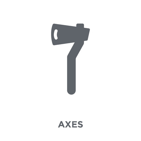 Axes icon. Axes design concept from Camping collection. Simple element vector illustration on white background.