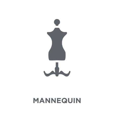 Mannequin icon. Mannequin design concept from  collection. Simple element vector illustration on white background.