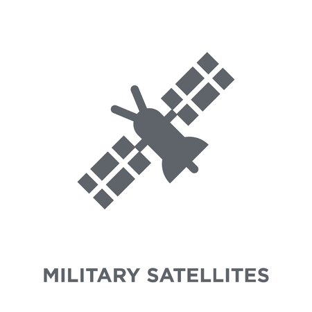 Military Satellites icon. Military Satellites design concept from Army collection. Simple element vector illustration on white background.