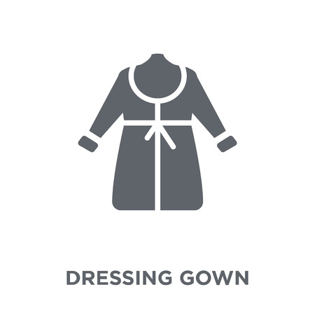 Dressing Gown icon. Dressing Gown design concept from Dressing Gown collection. Simple element vector illustration on white background.