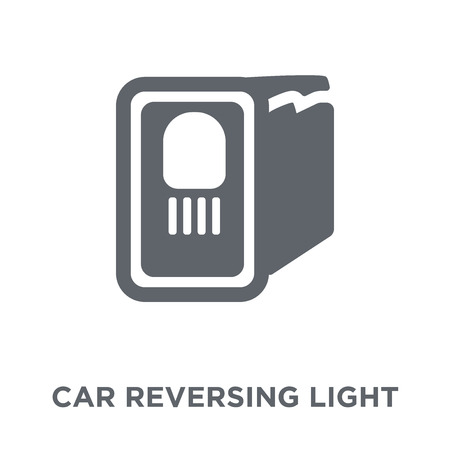 car reversing light icon. car reversing light design concept from Car parts collection. Simple element vector illustration on white background. Illustration