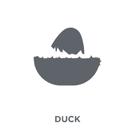 Duck icon. Duck design concept from Agriculture, Farming and Gardening collection. Simple element vector illustration on white background.