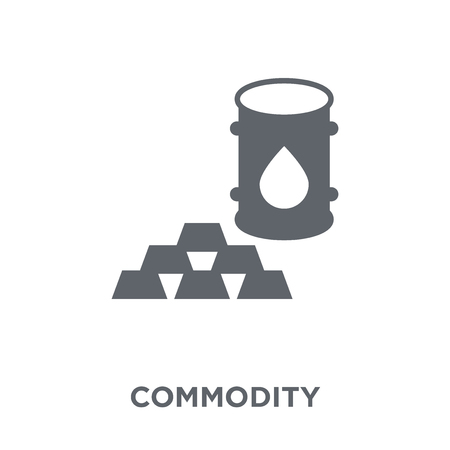 Commodity icon. Commodity design concept from Commodity collection. Simple element vector illustration on white background.
