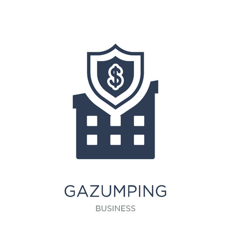 Gazumping icon. Trendy flat vector Gazumping icon on white background from Business collection, vector illustration can be use for web and mobile, eps10