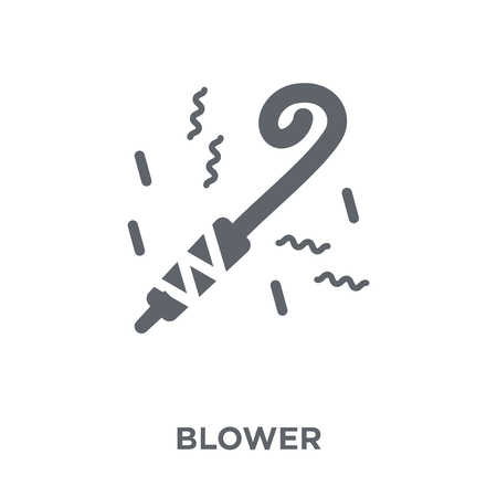 Blower icon. Blower design concept from Birthday and Party collection. Simple element vector illustration on white background.