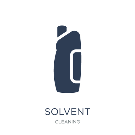 Solvent icon. Trendy flat vector Solvent icon on white background from Cleaning collection, vector illustration can be use for web and mobile, eps10