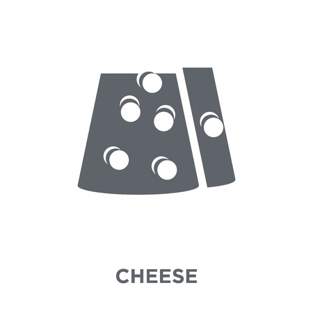 Cheese icon. Cheese design concept from Agriculture, Farming and Gardening collection. Simple element vector illustration on white background. Foto de archivo - 112001148