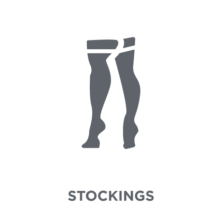 stockings icon. stockings design concept from Stockings collection. Simple element vector illustration on white background.