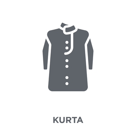 Kurta icon. Kurta design concept from Kurta collection. Simple element vector illustration on white background.