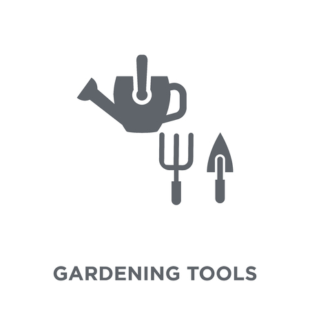 Gardening tools icon. Gardening tools design concept from Agriculture, Farming and Gardening collection. Simple element vector illustration on white background. Stock Vector - 112046930