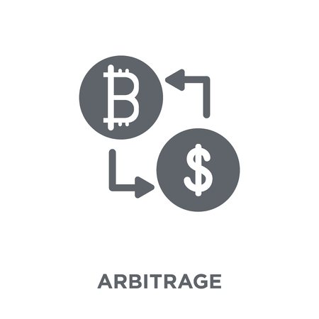 Arbitrage icon. Arbitrage design concept from Arbitrage collection. Simple element vector illustration on white background.