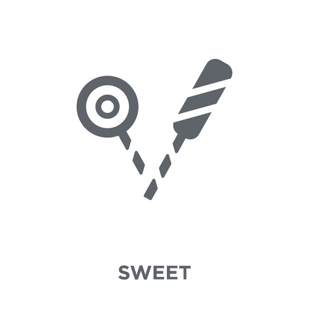 Sweet icon. Sweet design concept from Birthday and Party collection. Simple element vector illustration on white background. Stock Illustratie