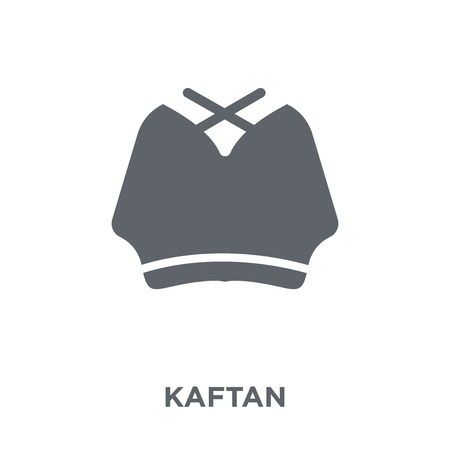 Kaftan icon. Kaftan design concept from Kaftan collection. Simple element vector illustration on white background. Illusztráció