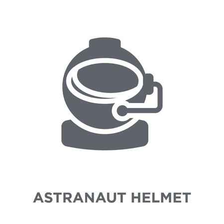 astranaut helmet icon. astranaut helmet design concept from Astronomy collection. Simple element vector illustration on white background. 向量圖像