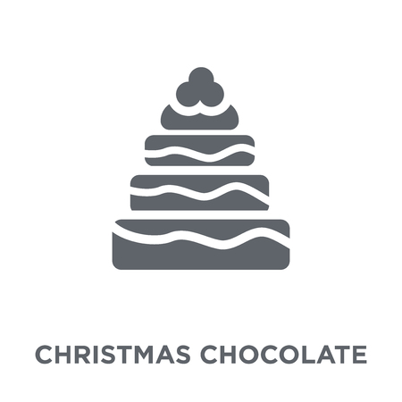 christmas chocolate icon. christmas chocolate design concept from Christmas collection. Simple element vector illustration on white background.