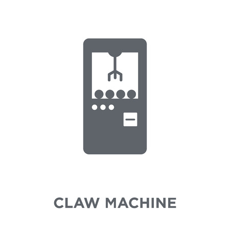 Claw machine icon. Claw machine design concept from Circus collection. Simple element vector illustration on white background.
