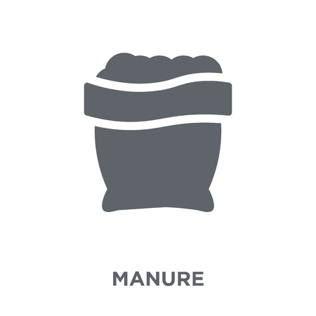 Manure icon. Manure design concept from Agriculture, Farming and Gardening collection. Simple element vector illustration on white background.
