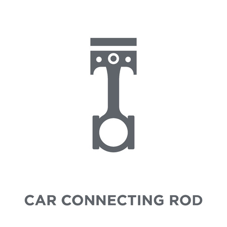 car connecting rod icon. car connecting rod design concept from Car parts collection. Simple element vector illustration on white background.