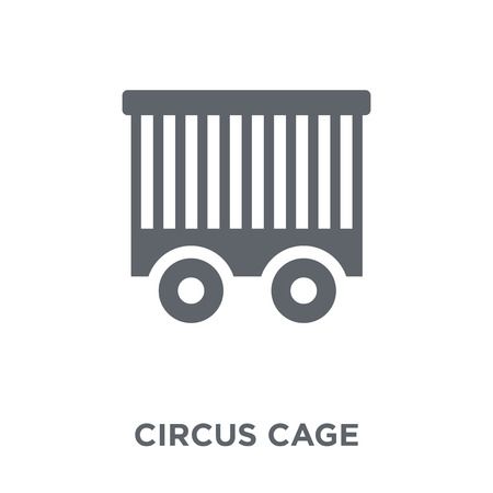 Circus Cage icon. Circus Cage design concept from Circus collection. Simple element vector illustration on white background.
