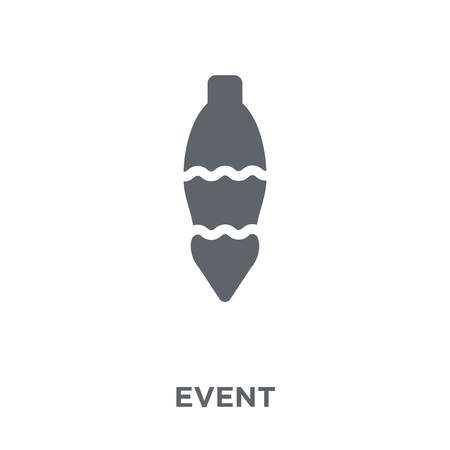 Event icon. Event design concept from Christmas collection. Simple element vector illustration on white background.