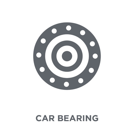 car bearing icon. car bearing design concept from Car parts collection. Simple element vector illustration on white background.