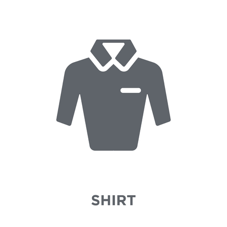 Shirt icon. Shirt design concept from  collection. Simple element vector illustration on white background.