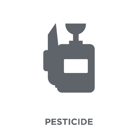 Pesticide icon. Pesticide design concept from Agriculture, Farming and Gardening collection. Simple element vector illustration on white background.