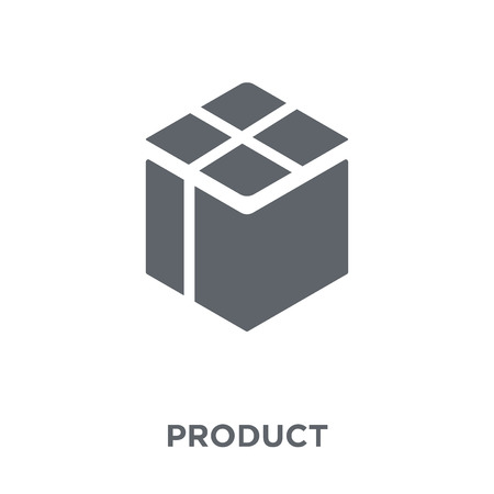 Product icon. Product design concept from  collection. Simple element vector illustration on white background. Illusztráció