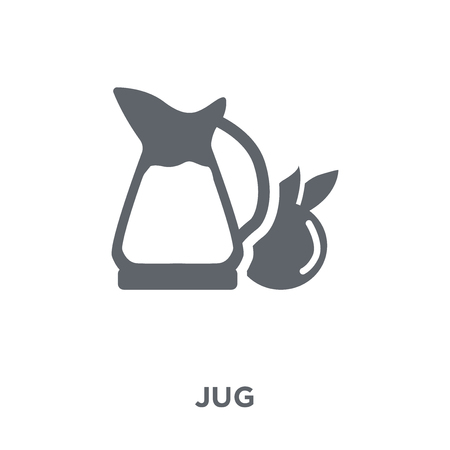 Jug icon. Jug design concept from Drinks collection. Simple element vector illustration on white background.