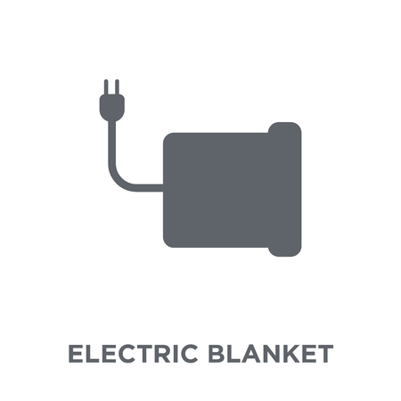 electric blanket icon. electric blanket design concept from Electronic devices collection. Simple element vector illustration on white background.